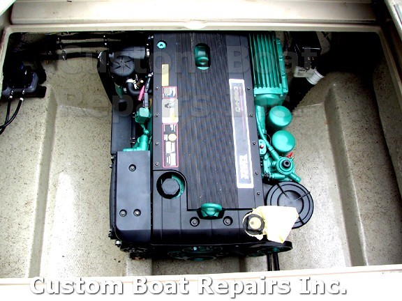 Custom Boat Repairs   Boat Repair Jobs   Engine Conversion